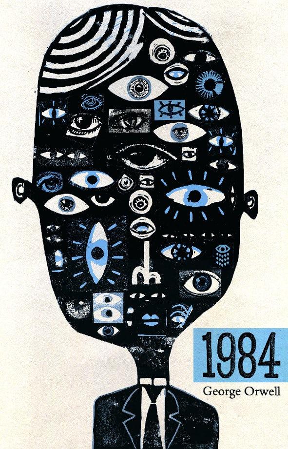 平面设计中的超现实主义-超现实的书籍封面设计-大哥的眼睛在看着你