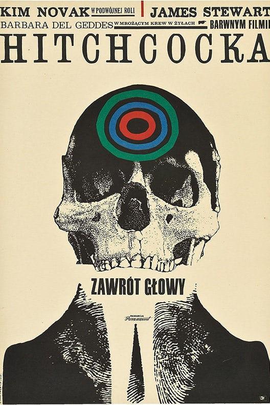 平面设计中的超现实主义-超现实主义海报设计-令人不安的单色头骨与鲜明的颜色poppage