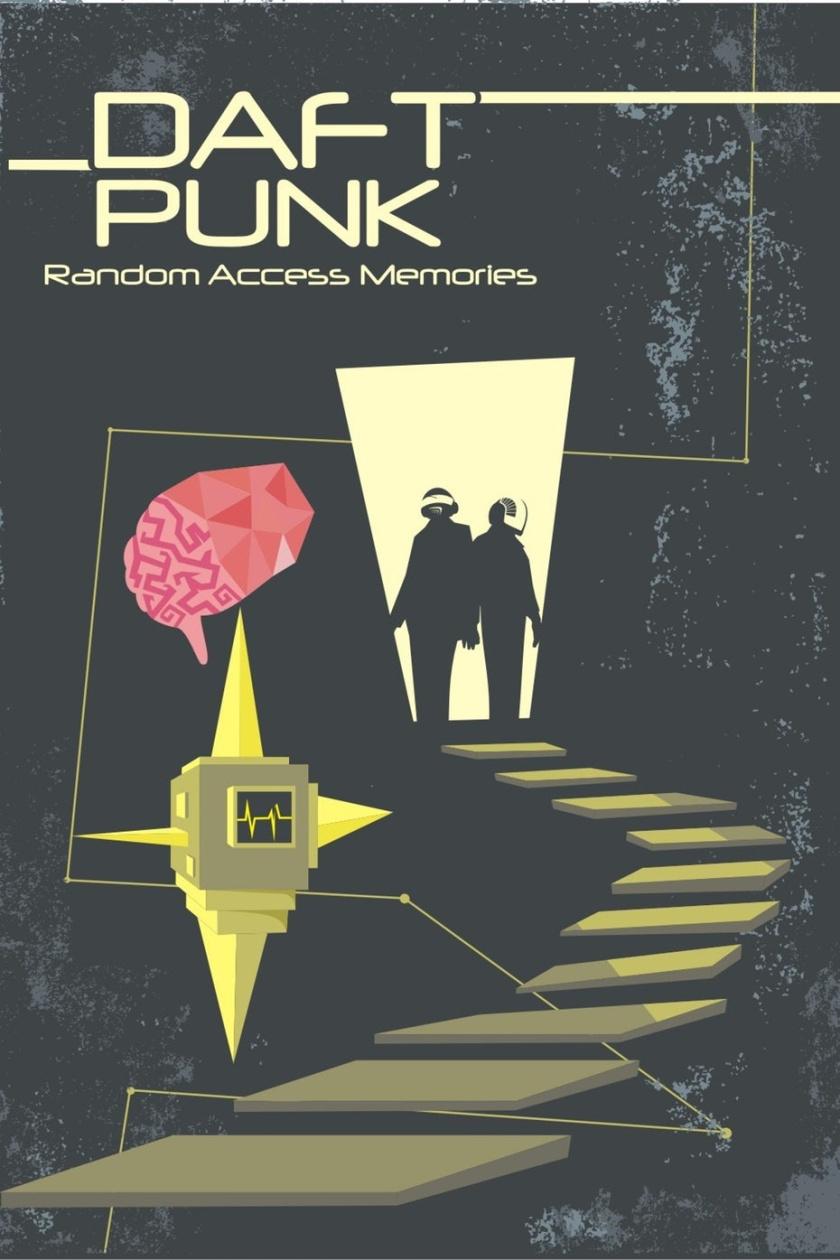 平面设计中的超现实主义-超现实主义海报设计-捕获记忆的生物力学维度