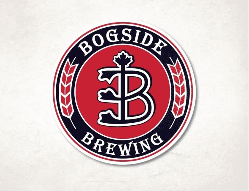 传统徽标logo设计-圆圈与小麦和B初始徽标logo