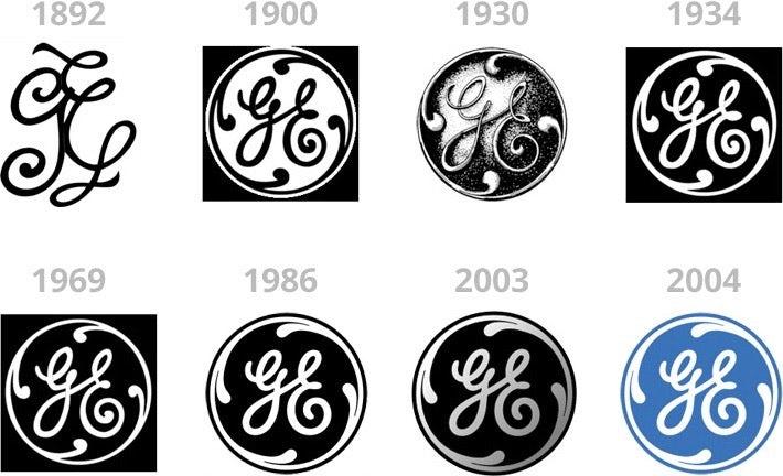 传统徽标logo设计-用电气自1891年成立的徽标logo