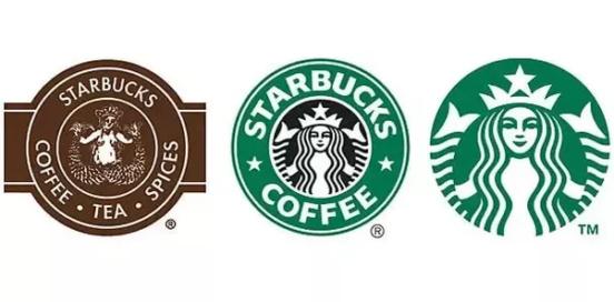 现代徽标logo设计-星巴克迭徽标代logo