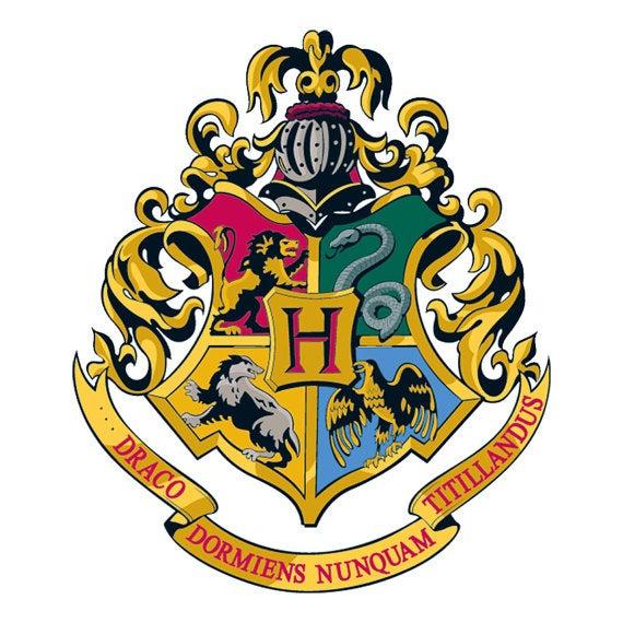 学术会徽徽标logo设计-霍格沃茨会徽logo