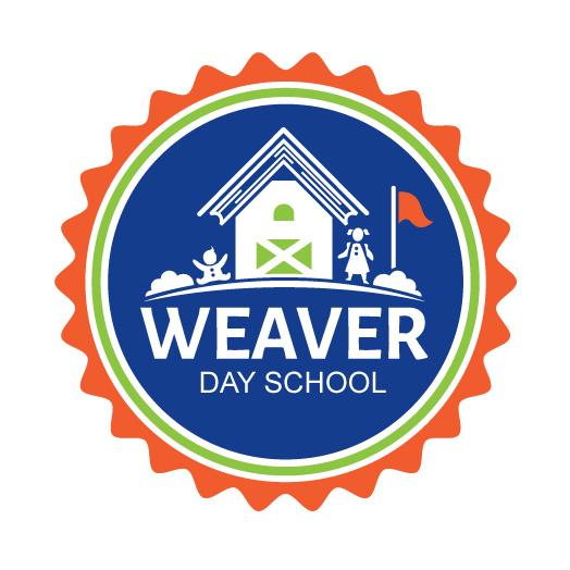 学术会徽徽标logo设计-校舍与国旗和儿童徽标logo