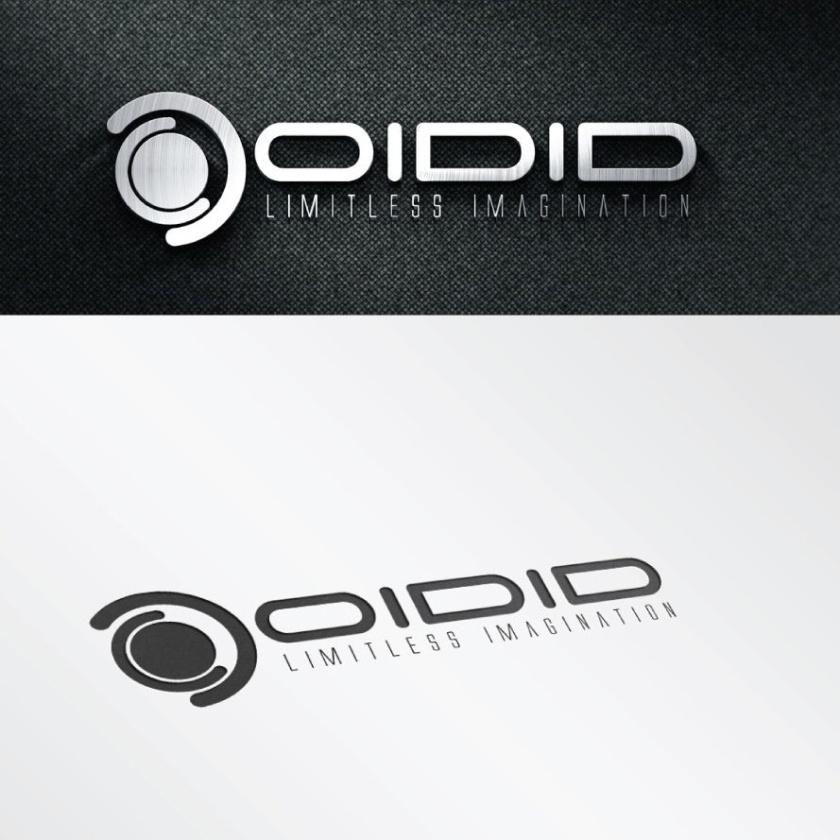 高科技金属logo设计-Oidid标志logo设计