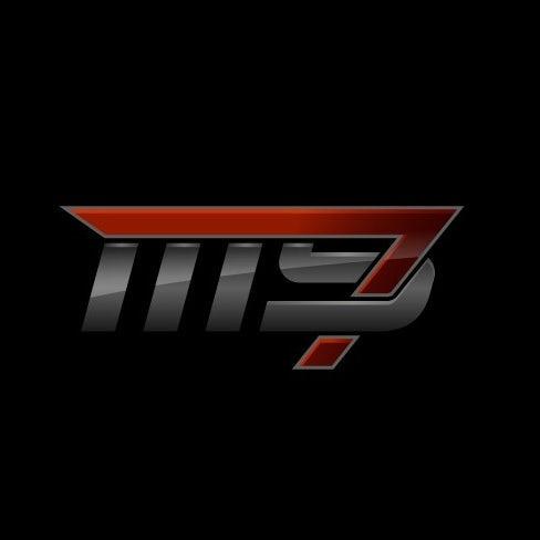 高科技金属logo设计-隐形和激进的汽车logo设计
