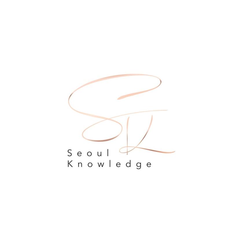 豪华黄金logo设计-首尔知识logo设计
