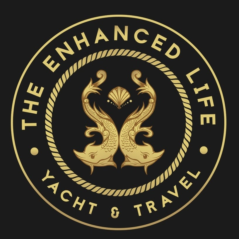 豪华黄金logo设计-游艇俱乐部标志logo设计