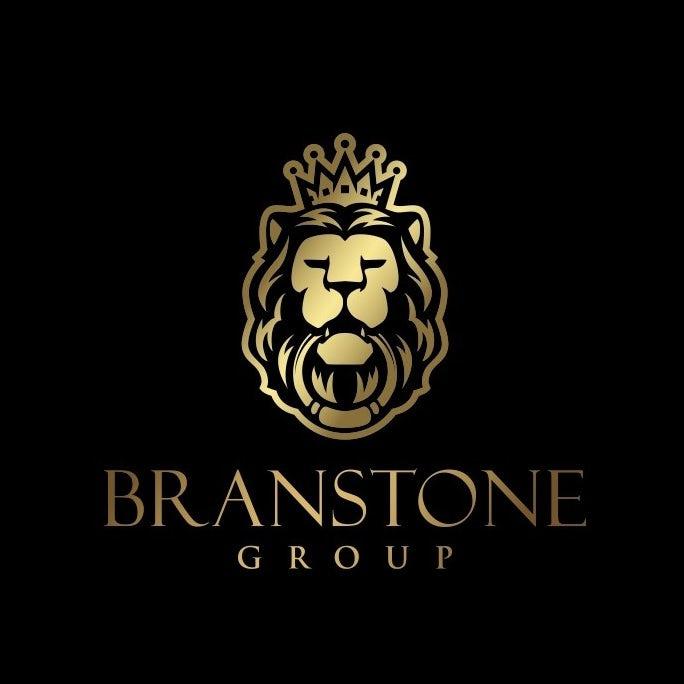 豪华黄金logo设计-房地产投资和管理公司logo设计
