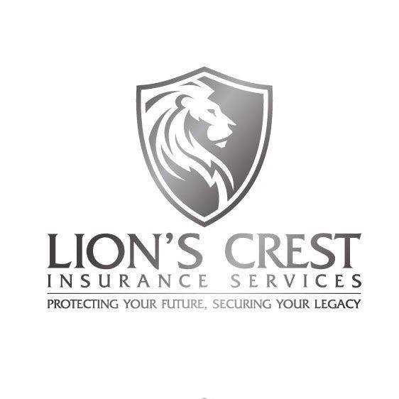 低调的银色logo设计-保险标志设计