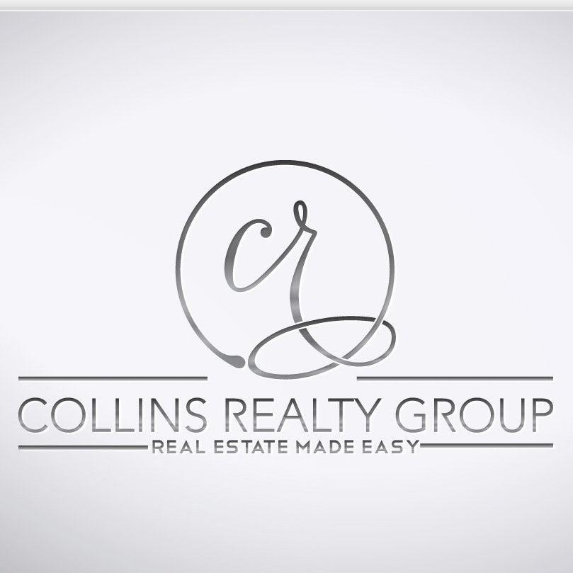 低调的银色logo设计-房地产logo设计