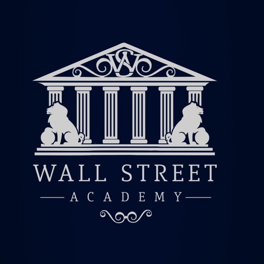 低调的银色logo设计-金融教育平台标志logo设计