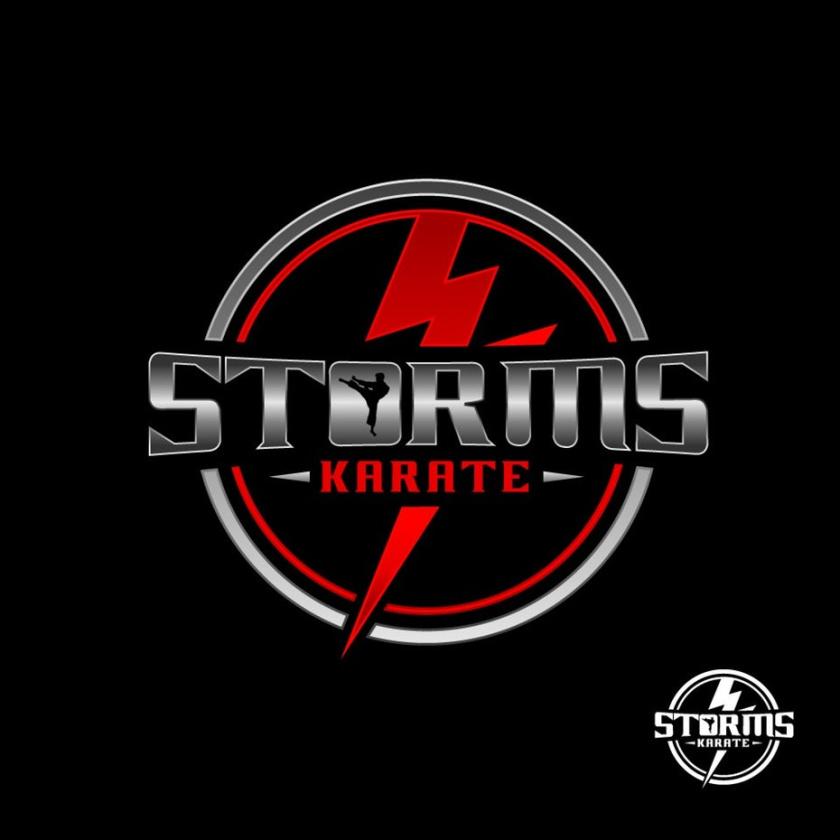 坚固和坚韧的重金属logo设计-空手道工作室logo设计
