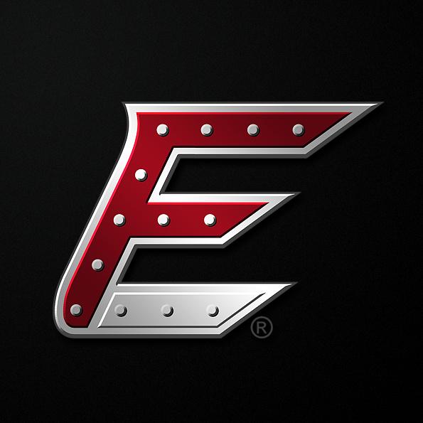 """坚固和坚韧的重金属logo设计-Fast Edie的""""快速""""徽标logo设计"""