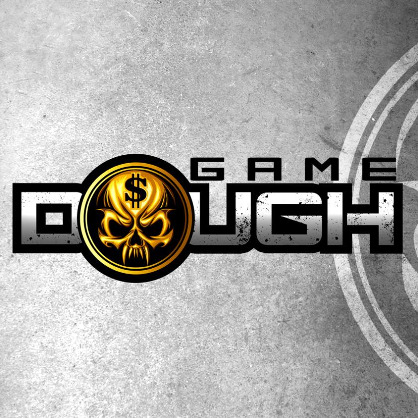 黄金和银logo设计-游戏面具标志设计