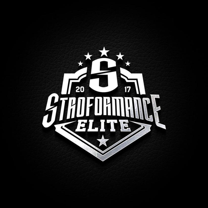 黄金和银logo设计-Stroformance Elite的标志logo设计