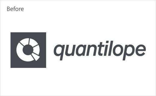 Quantilope市场调研分析公司logo设计-旧版本