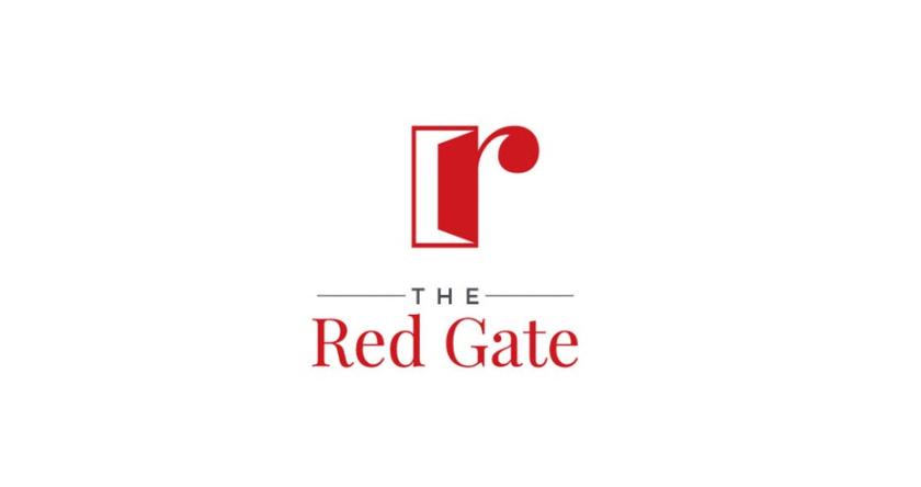 红门红色徽标logo设计