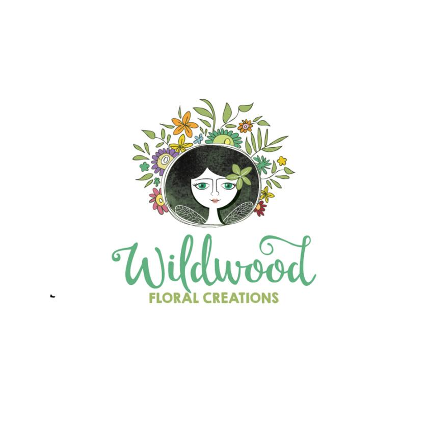 怀尔德伍德花卉创作徽标logo设计