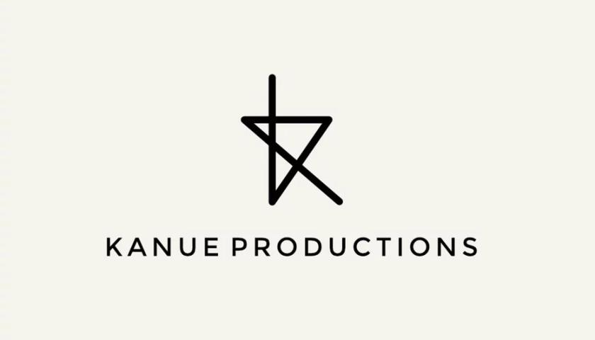 抽象Kanue Productions徽标logo设计