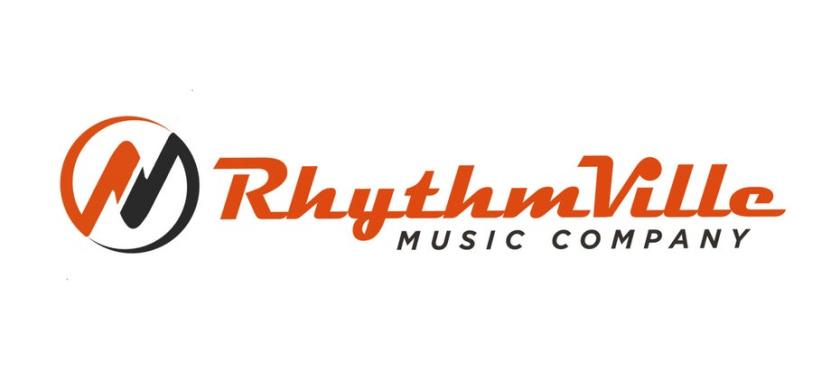 RhythmVille音乐公司logo设计