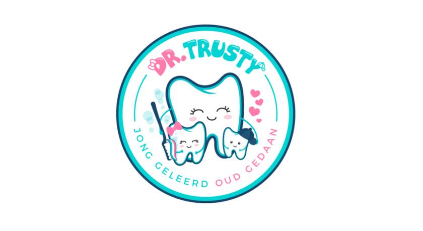 Trusty博士牙医徽标logo设计
