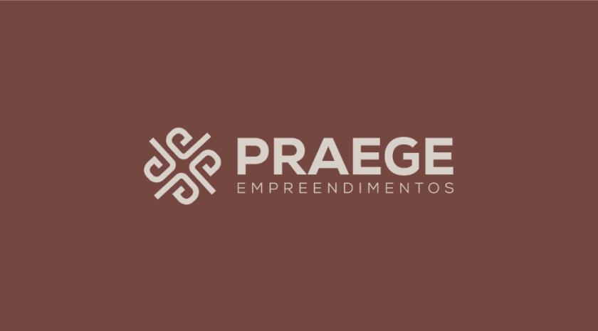 PRAEGE 4个P字母酒店logo设计vi设计