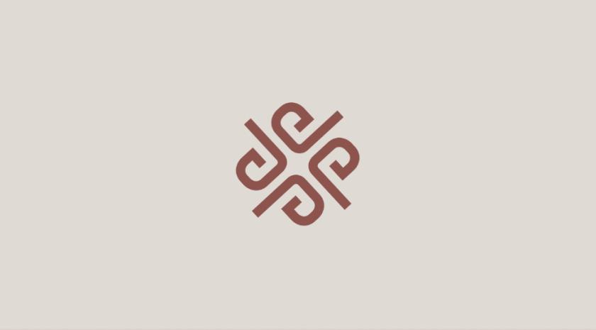 PRAEGE 4个P字母酒店logo设计