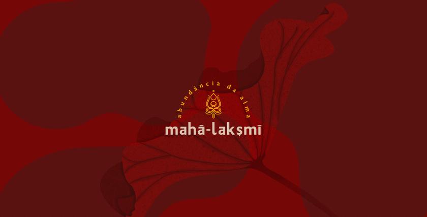 Maha-Laksmi 印度瑜伽舞蹈品牌logo设计vi设计