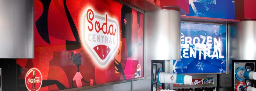 克罗格 Kroger 超市统一品牌形象设计logo设计