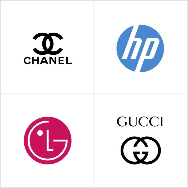香奈儿,惠普,LG和Gucci的会标logofun88乐天使备用