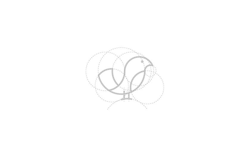 Pássaro金鸟饲料口粮品牌logo设计