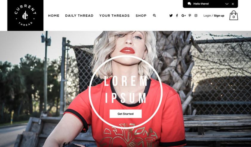 一个为了平衡使用了中性色彩去创造奢华,简约的感的伟大网页