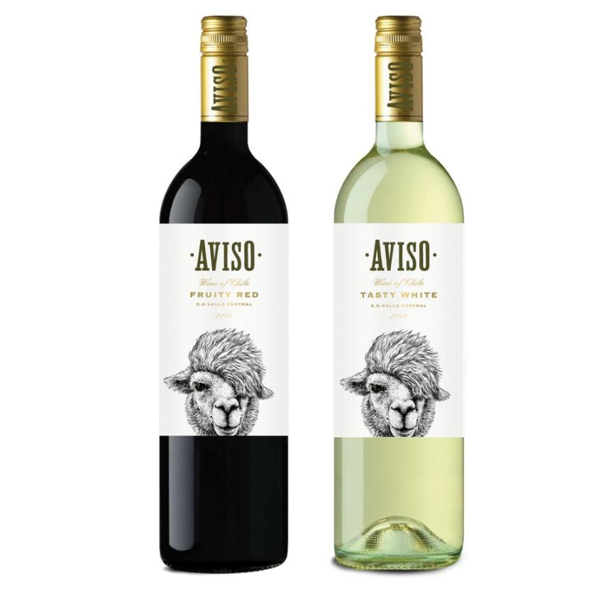 错综复杂的细节-Aviso红酒产品包装设计
