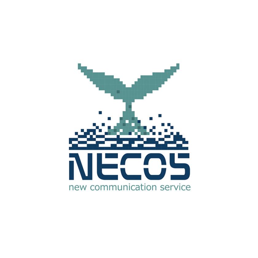 像素艺术-Necos标志设计