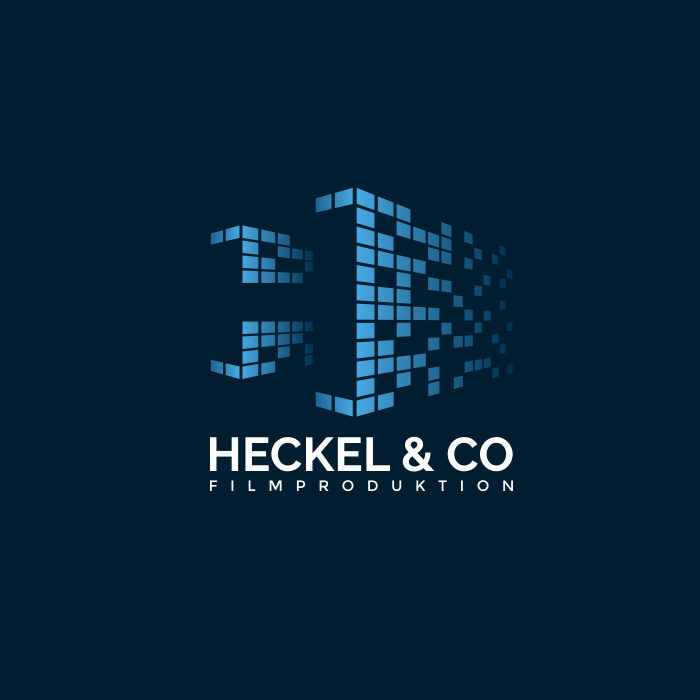像素艺术-Heckel&Co电影制作标志设计
