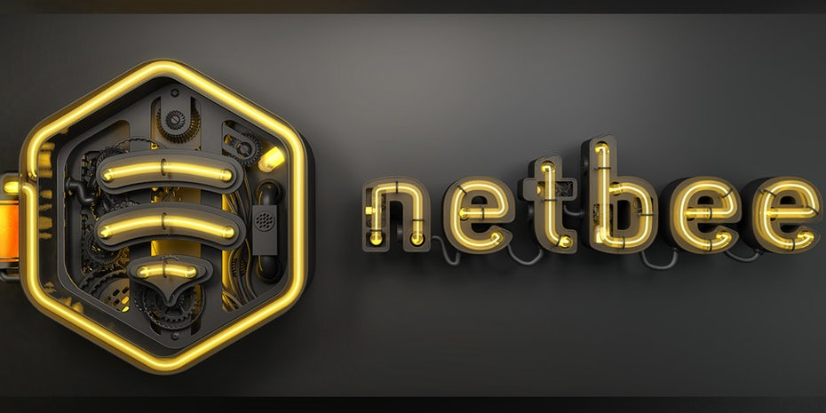 3D图像-Netbee标志设计