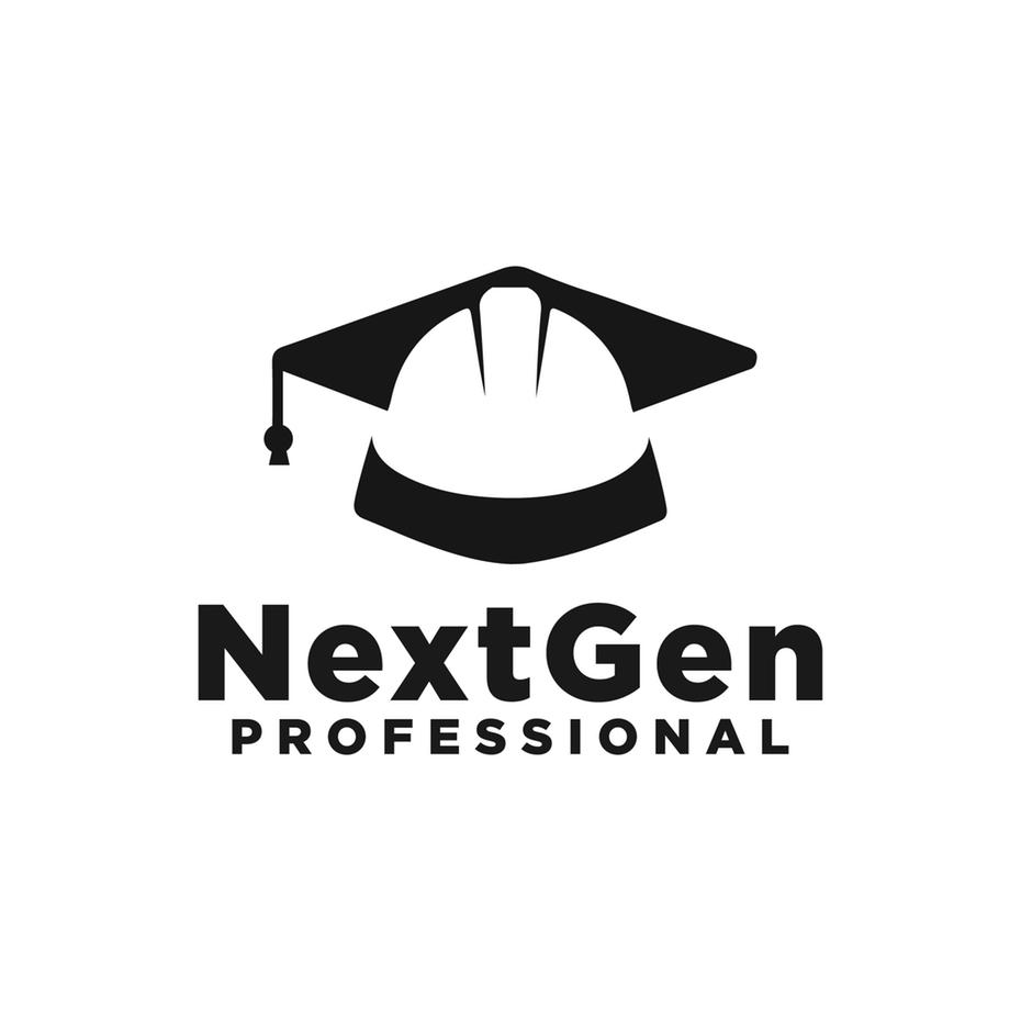 积极的负空间-NextGen专业徽标logo设计