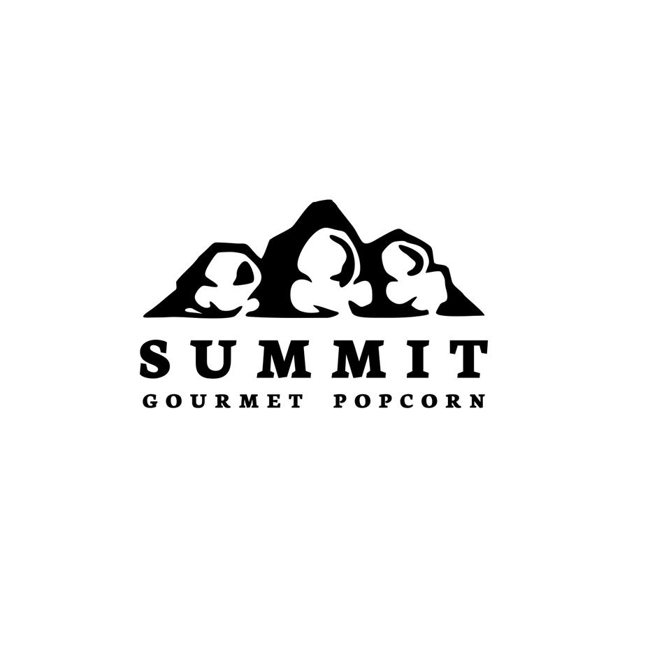 积极的负空间-summit标志设计