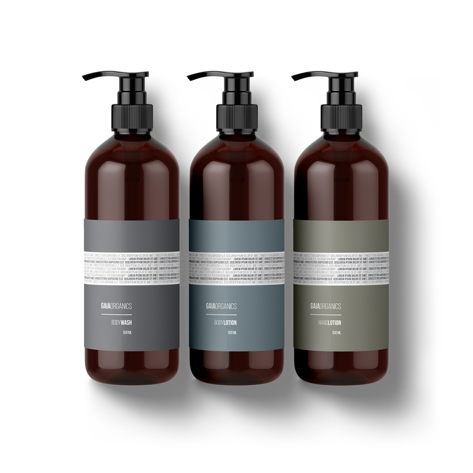 新极简主义-精油产品包装设计
