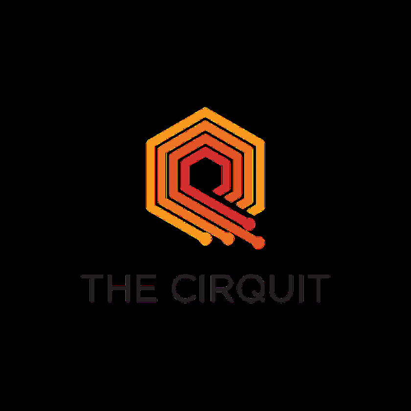 友好的几何图案-Cirquit标志设计