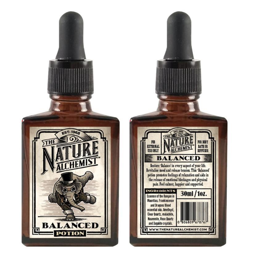 复古风格-Nature Alchemist产品包装设计