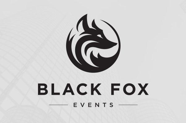 Black Fox Events标志设计