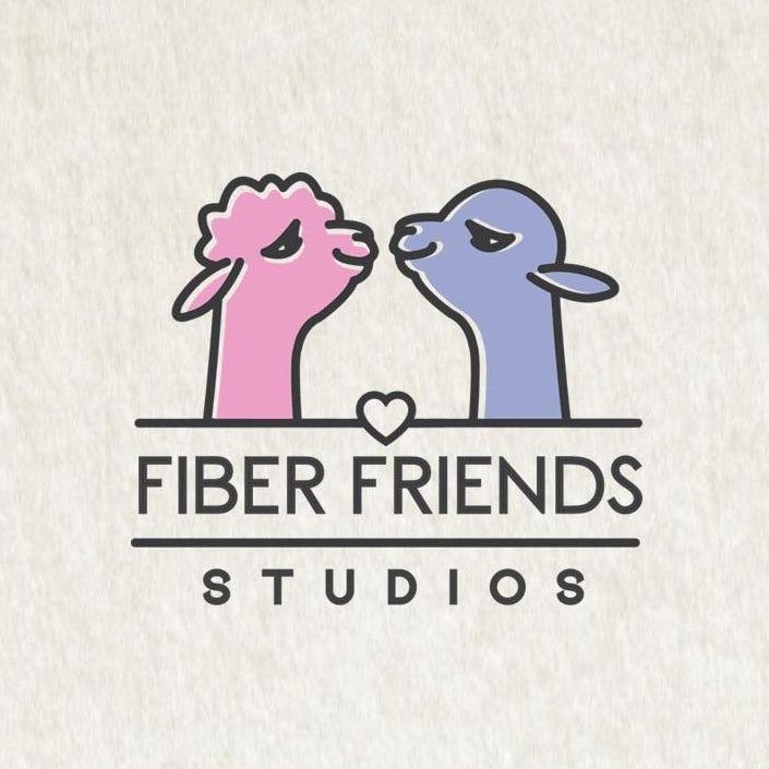 FIBERFRIENDS徽标logo设计