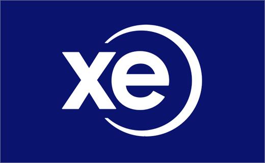Xe在线货币转换新LOGO设计