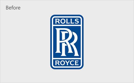 劳斯莱斯品牌logo更新设计