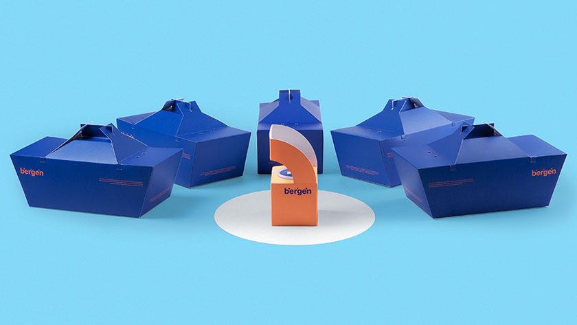 美食虾外卖餐盒包装设计,将美味虾和捕虾船一起送到你的餐桌