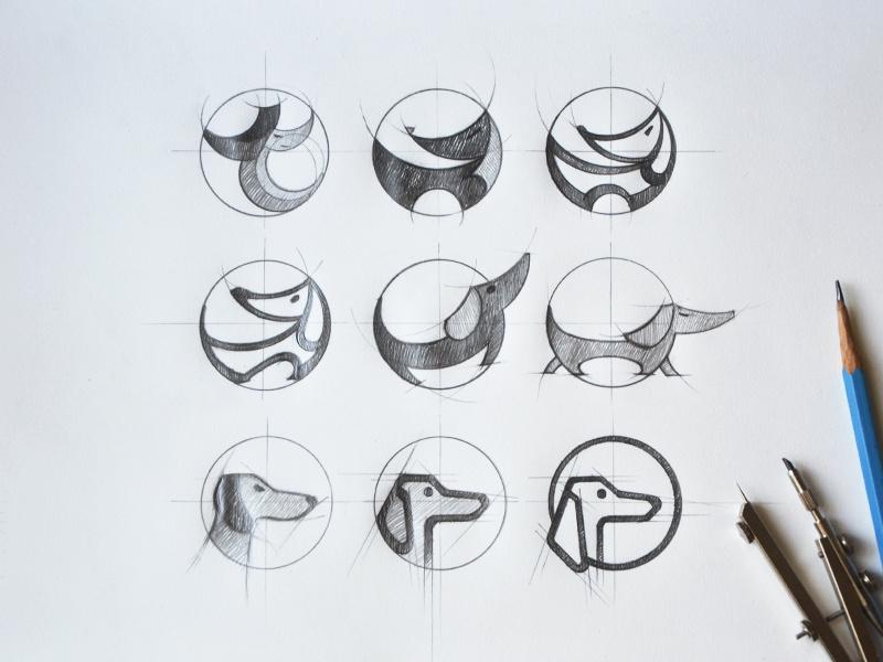 标志logo设计灵感和想法