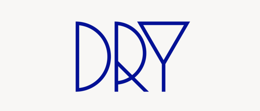 最佳logo设计示例-难忘的布局-英国创意机构Dry 公司logo设计