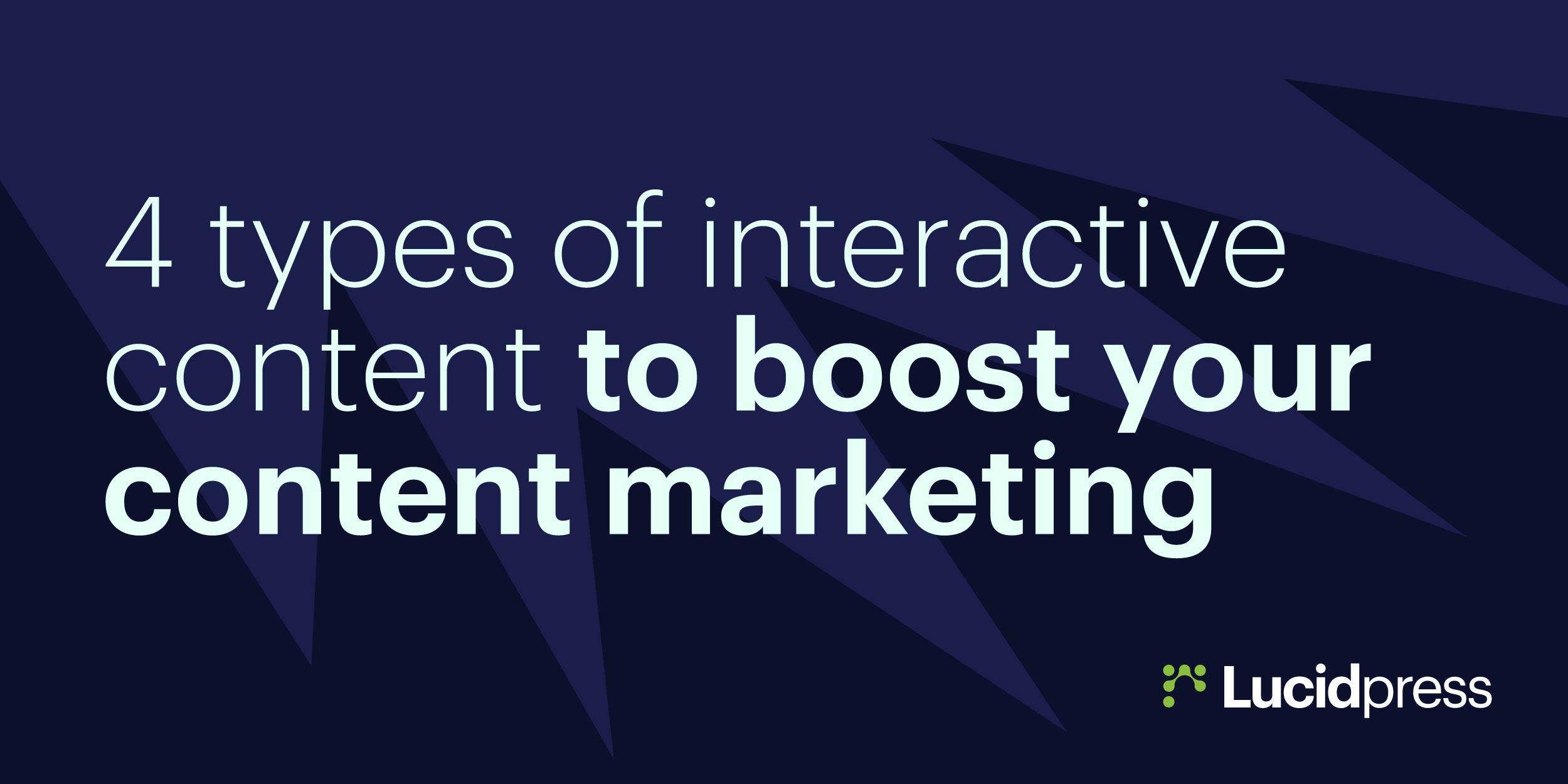 4种促进内容营销的互动内容-上海营销策划公司